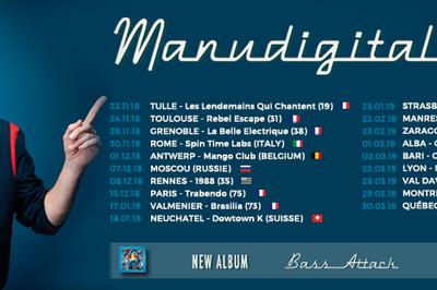 Manudigital En Tournée Pour Son Nouvel Album «bass Attack» à Strasbourg