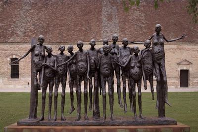 Marc Petit - sculpture, bronze à Nancay