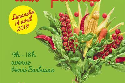 Marché aux plantes des Gratte-Ciel : Le potager urbain à l'honneur à Villeurbanne 2019