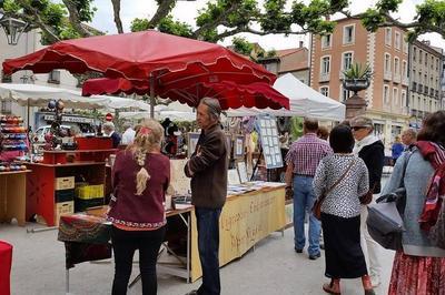 Marché de créateurs à Prades
