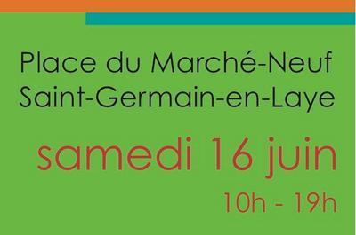 Marché de l'art de Saint-Germain-en-Laye à Saint Germain en Laye