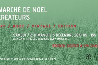 Marché De Noël Créateurs - Æquographe & La Villa M ! à Marseille