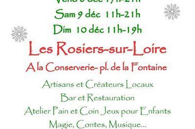 Marché de noël créatif et local à Les Rosiers sur Loire