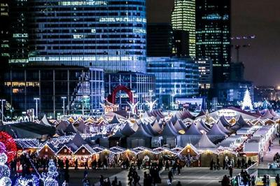 Marché de Noël Paris La Défense 2017
