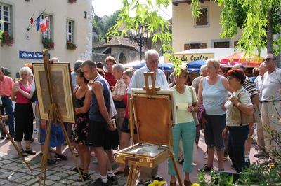 Marché Des Artisans Et Producteurs Locaux à Chanaz