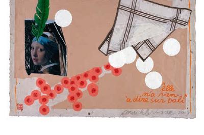 Mark Brusse - 40 ans de collage à Saint Gratien