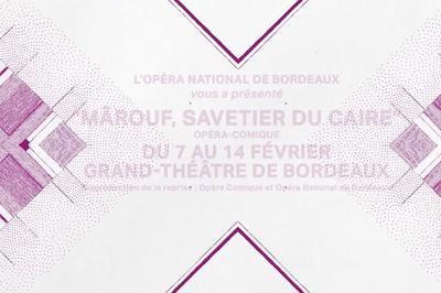 Mârouf, savetier du Caire à Bordeaux