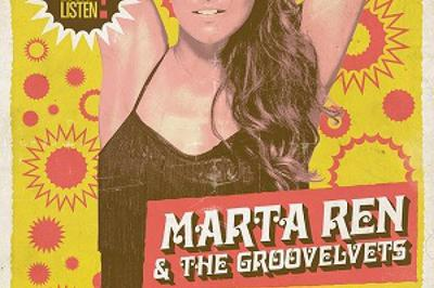 Marta Ren & The Groovelvets à Montpellier