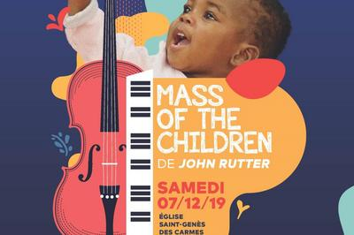 Mass of children à Clermont Ferrand