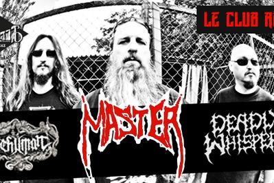 Master, Dehuman et Deadly Whispers à Rodez
