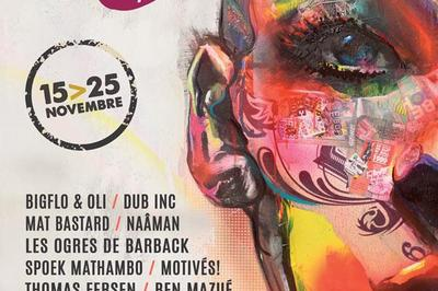 Mat Bastard+Dub Inc+Acid Arab Live à Le Mans