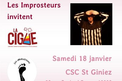 Match d'impro Marseille Bordeaux