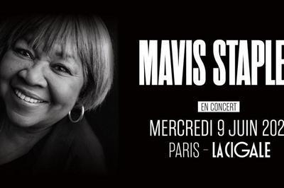 Mavis Staples à Paris 18ème