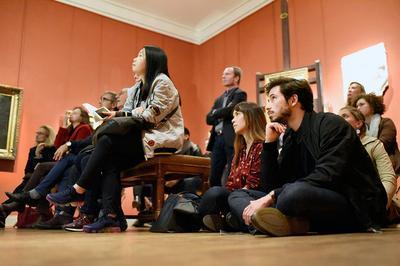 Médiation Autour De L'exposition Dans L'atelier, La Création à L'oeuvre à Paris 6ème