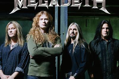 Megadeth à Villeurbanne