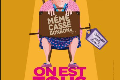 Mémé 3 : On est tous le vieux d'un autre à Angers