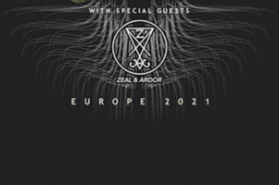 Meshuggah Europe 2021 à Villeurbanne