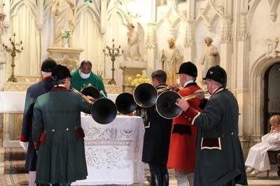 Messe De Saint-hubert à Fraze