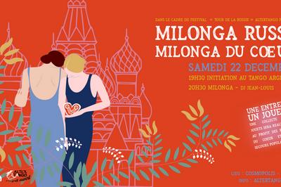 Milonga russe/Milonga du coeur à Nantes