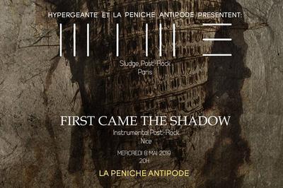 MIME et First Came The Shadow à Paris 19ème