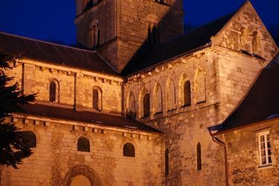 Mise En Lumière De L'abbaye De Graville à Le Havre