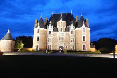 Mise En Lumière Du Château à Martainville Epreville