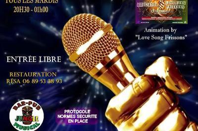 Tous Les Mardis   Karaoké  Love Song Frissons  à Montpellier