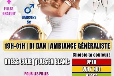 Soirée des Célibataires #6 || Edtiion White Party | Dj Dan à Montpellier