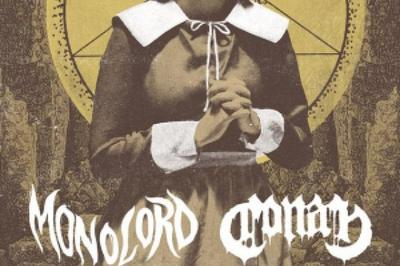 Monolord + Conan + Grooott à Audincourt