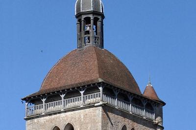 Montée Au Clocher De L'Église D'orgelet à Orgelet