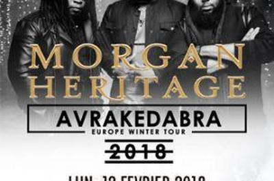 Morgan Heritage + Guest à Strasbourg