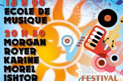 Morgan Royer - Ishtor - Trouble tones (Fête de la Musique 2018) à Croissy Beaubourg