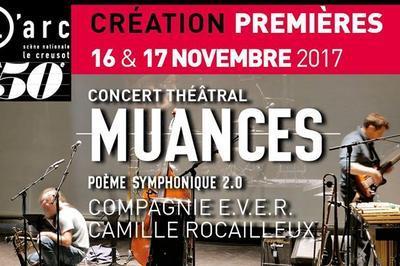 Muances - concert théâtral à Le Creusot