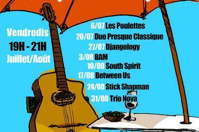 Musical'été - apéros concerts à Montfort sur Argens
