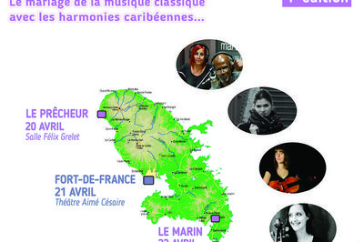 Musiciennes en Martinique à Le Marin