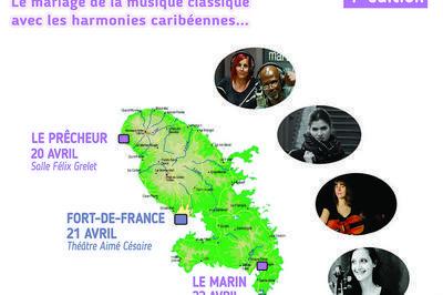 Musiciennes en Martinique à Le Precheur