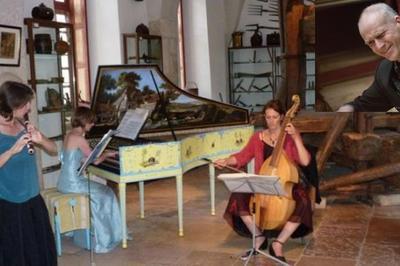 Musique baroque flûte clavecin viole de gambe à Ige