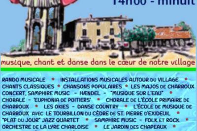 Musique Chant Et Danse à Charroux