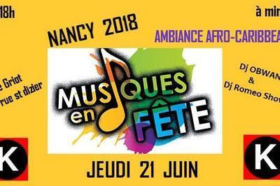 Musiques en Fête (Fête de la musique 2018) à Nancy