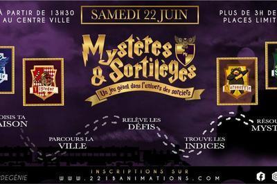 Mystères & Sortilèges - Jeu géant - Enquête dans la ville à Reims