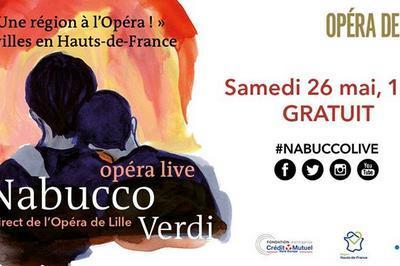 Nabucco Live : un opéra en région à Lille