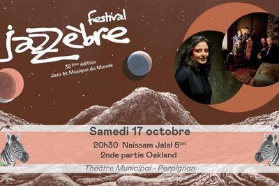 Naissam Jalal 5tet + Oakland à Perpignan