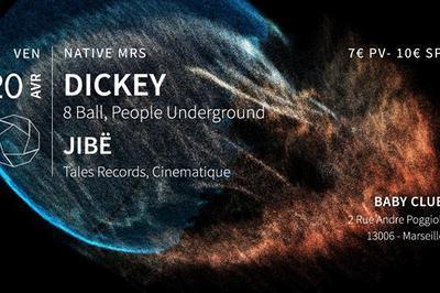Native MRS w/ Dickey + Jibë à Marseille