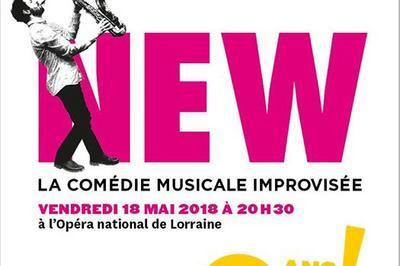 New - La Comédie Musicale Improvisée à Nancy