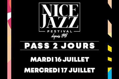 Nice Jazz Festival Pass Mar + Mer