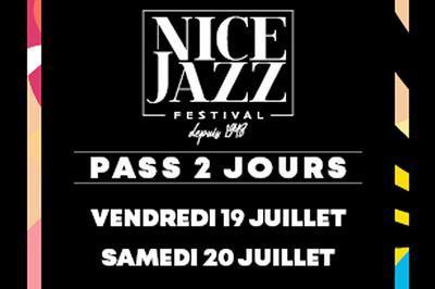Nice Jazz Festival Pass V et S