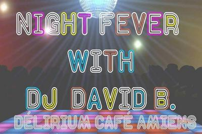 Night fever with David B. à Amiens