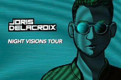 Night Visions Tour : Joris Delacroix Live Et Dj Set + Wielki Dj à Strasbourg