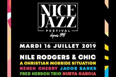 Nile Rodgers & Chic/ Ch. Mcbride à Nice