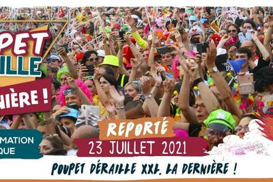 Poupet Dérailles XXL - Report à Saint Malo du Bois